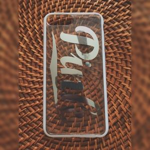 clear PINK ® brand iPhone 7/8 Plus phone case